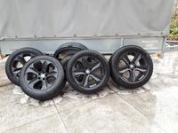Шины зимние с дисками Michelin 255/55 r19 BMW x5, x6 за 295 000 тг. в Кокшетау