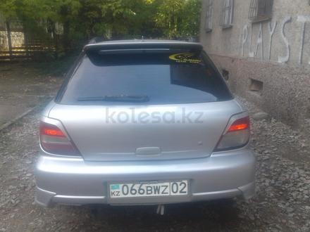 Subaru Impreza 2001 года за 2 400 000 тг. в Алматы – фото 2