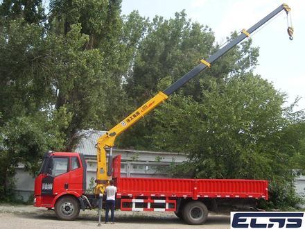FAW  кран-5тонн, шасси-10тонн 2019 года за 18 500 000 тг. в Алматы – фото 2