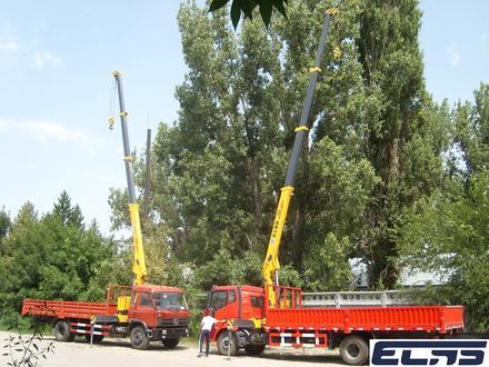 FAW  кран-5тонн, шасси-10тонн 2019 года за 18 500 000 тг. в Алматы – фото 6