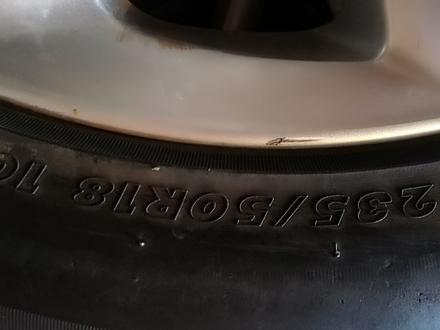 Комплект шин с дисками из Японии без пробега по кз за 85 000 тг. в Алматы – фото 2