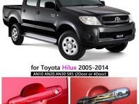 Хром накладки на ручки дверей для Toyota 4runner. (215) & Toyota Hilux за 12 000 тг. в Алматы