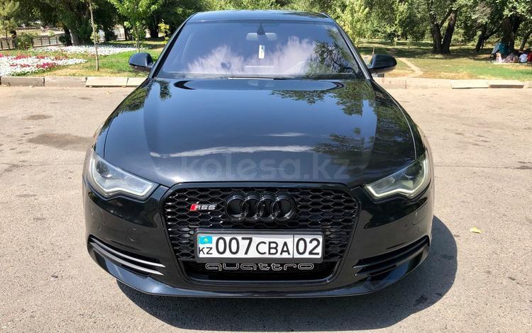 Audi A6 2011 года за 7 800 000 тг. в Алматы
