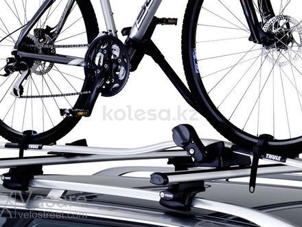 Крепление для велосипеда Thule proride 591 с поперечными рейленгами Tiger X за 131 800 тг. в Нур-Султан (Астана) – фото 2
