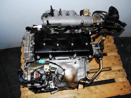 Двигатель qr20 Nissan Wingroad (ниссан вингроуд) за 111 тг. в Алматы