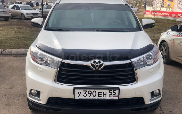 Toyota Highlander 2014 года за 11 900 000 тг. в Петропавловск