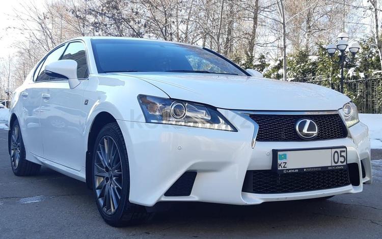 Lexus GS 350 2012 года за 11 000 000 тг. в Алматы