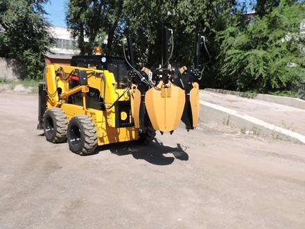 МКСМ  минипогрузчик с ковшом деревопересадчиком и гусеницами WECAN 1100 2019 года за 24 990 000 тг. в Алматы – фото 25