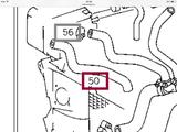 Патрубок к расширительному бачку Мерседес Т2 609 Д за 7 000 тг. в Караганда