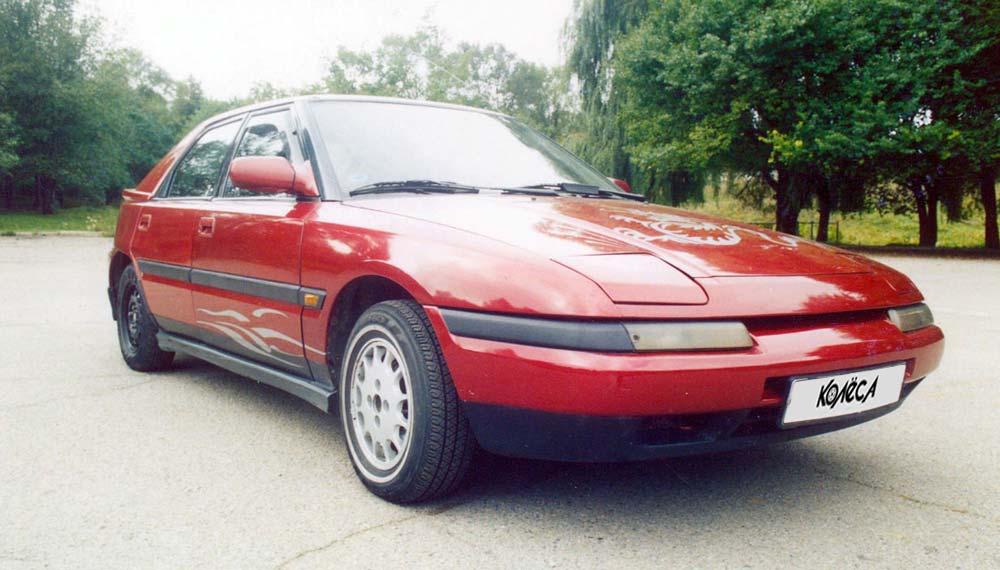 mazda 323 слепыш 1.6 1994 года характеристика