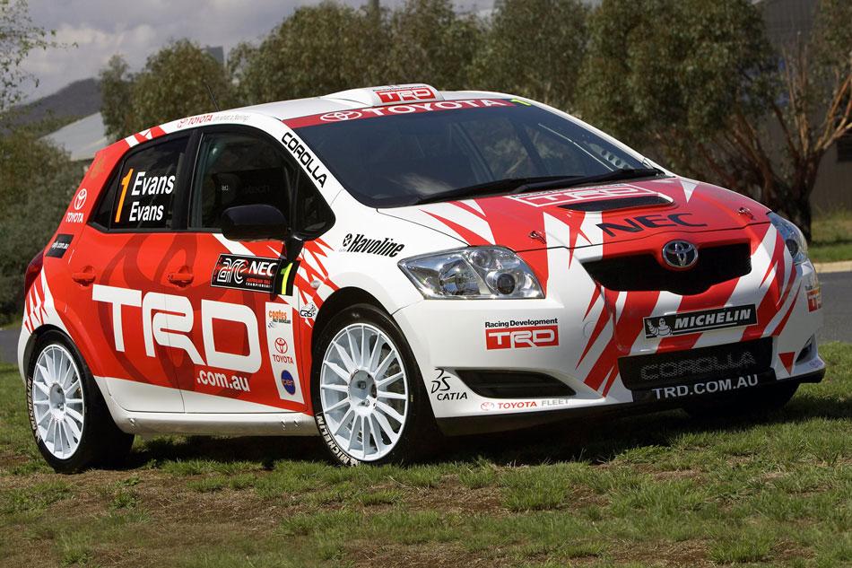 Toyota Yaris пороги боковые motorsport #3