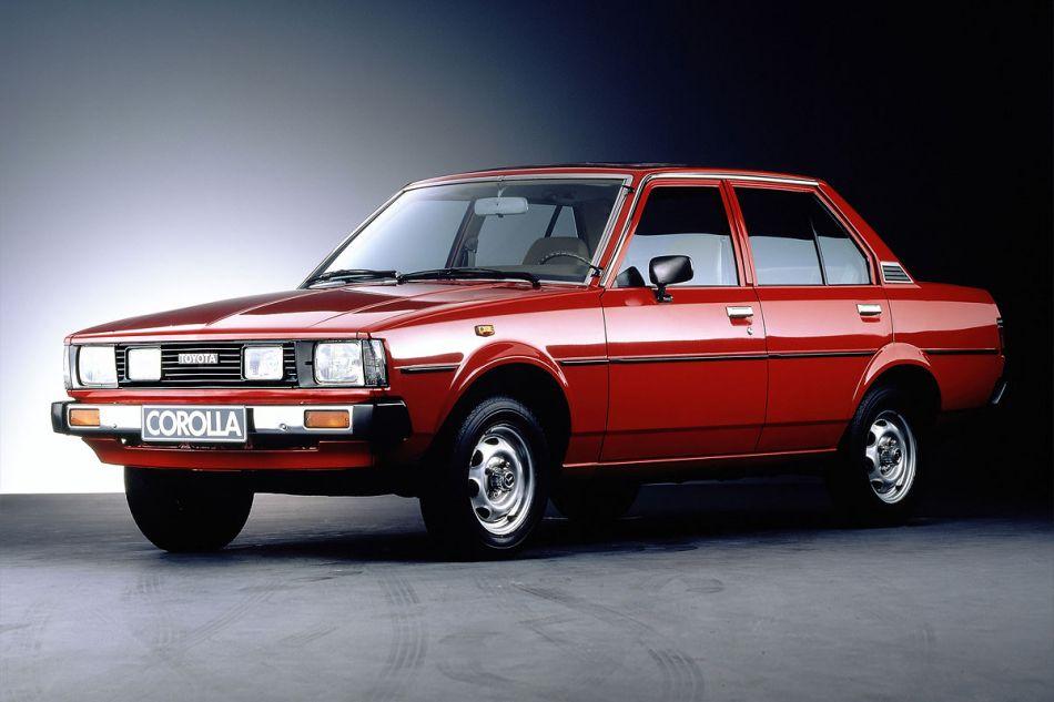 Тойота королла 1979 года