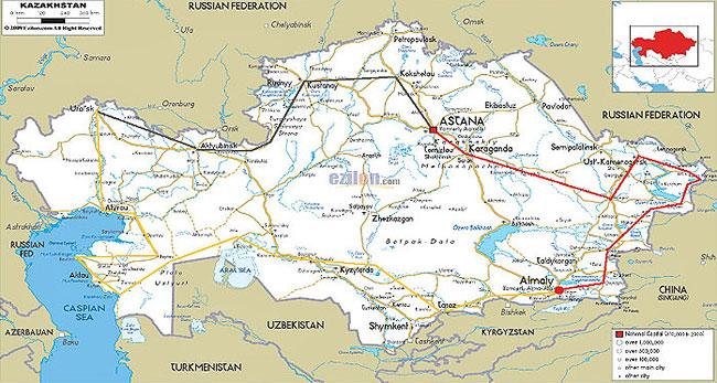 (называется карта шосссейных дорог киргизии чего зависит стоимость