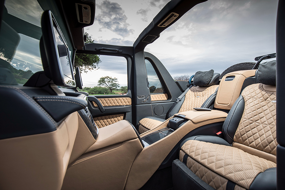 Mercedes-Maybach G63Landaulet.