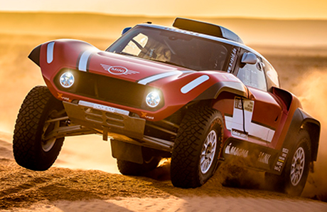 Команда X-raid Team представила заднеприводный прототип на ралли «Дакар-2018»