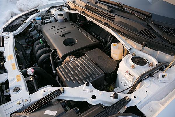 Lifan X60 - 2016 - двигатель
