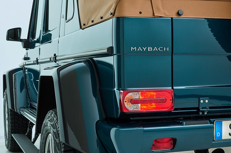 В«Майбахе» позаботились иотом, чтобы никто неподумал, что это просто Mercedes. Значков Maybach намашине хватает
