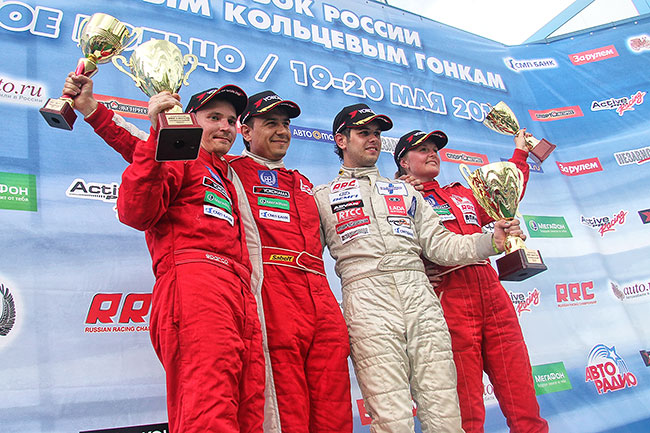 2012 год, Смоленское кольцо. Артемьев на I этапе чемпионата России занял второе место