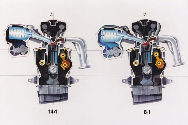 Концепт мотора Saab