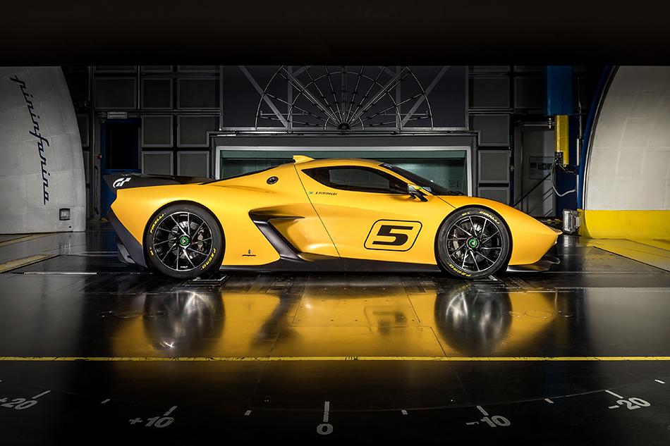 Fittipaldi EF7 Vision Gran Turismo.