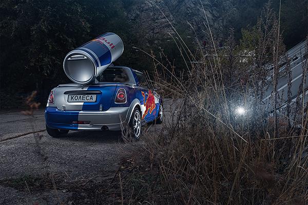 MINI Cooper - Red Bull