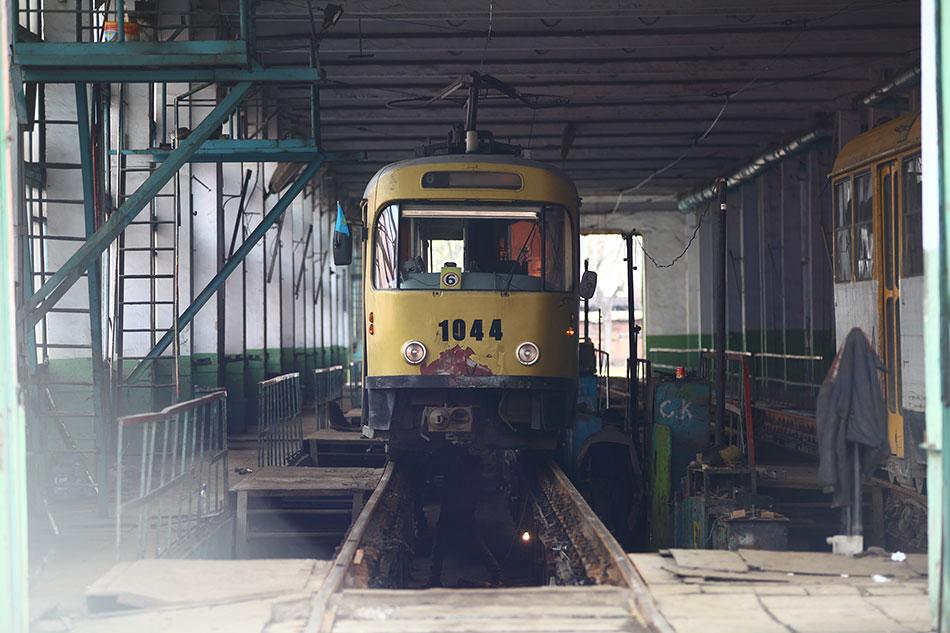 Март, 2013год. Ремонтные цеха трамвайного депог. Алматы