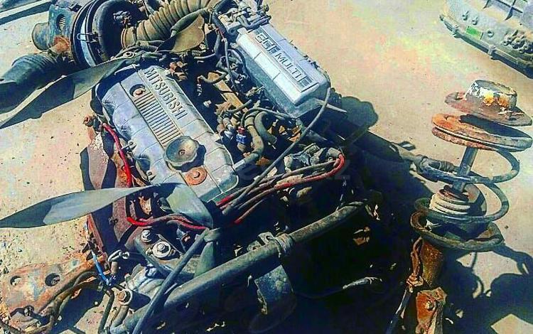 Двигатель Митсубиси Галант 4G63 за 230 000 тг. в Шымкент