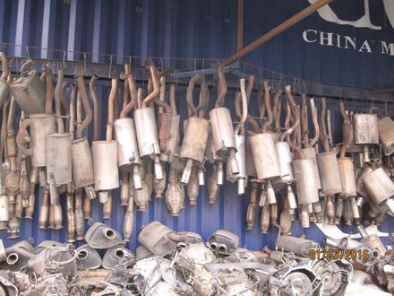 Глушитель на субару за 10 000 тг. в Алматы – фото 2